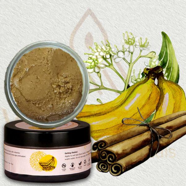 Banana & Cinnamon Skin Softening Scrub