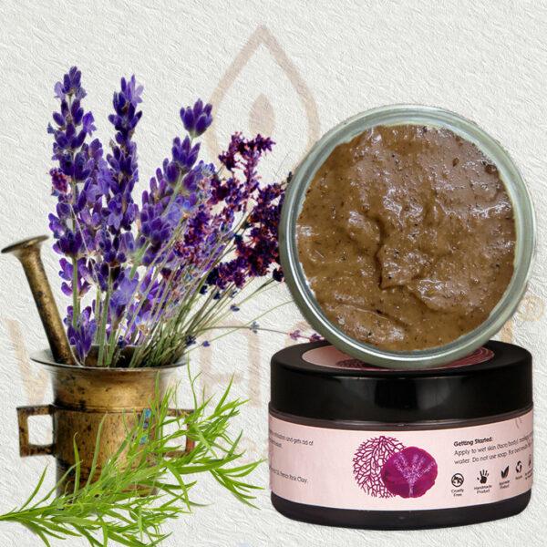 Lavender & Tea Tree Refreshing Scrub