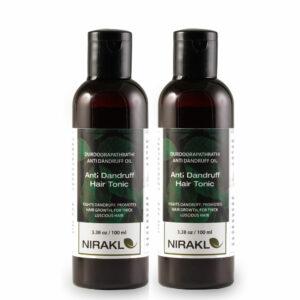 Anti Dandruff Hair Tonic Value Pack | DurdooraPathradi Hair Oil (Pack of 2) (100 ml x 2)