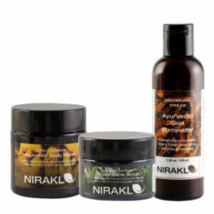 Nirakle - The Body Polish Kit (Pack of 3)