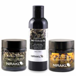 Nirakle Skin Detox Kit (Pack of 3)