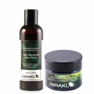 Nirakle Anti Dandruff Haircare Kit (Pack of 2)