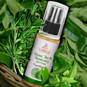 Green Tea & Rosemary Hair Potion