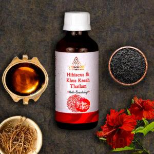 Hibiscus & Khus Kesah Thailam