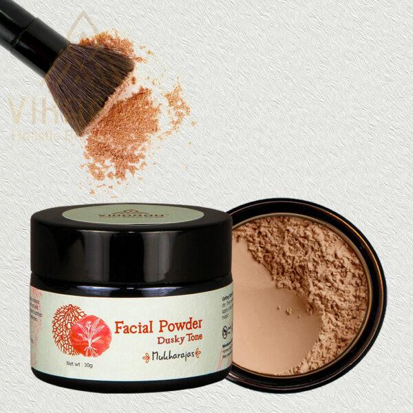 Ayurvedic Facial Powder Dusky Tone