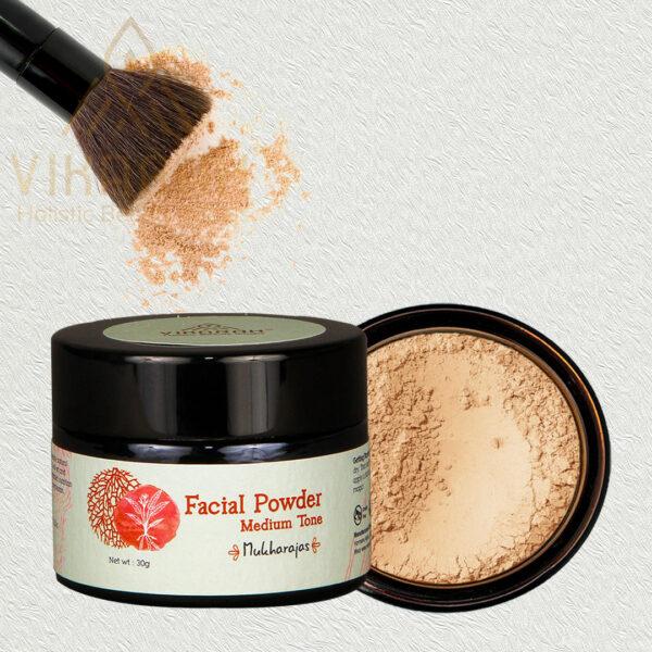 Ayurvedic Facial Powder Medium Tone