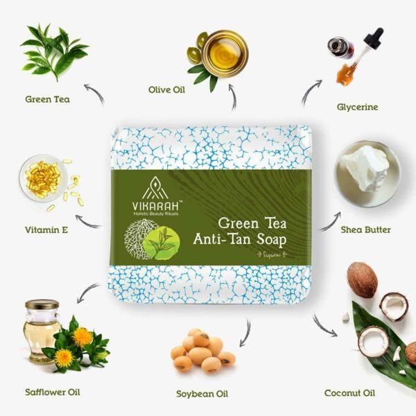 Green Tea Anti Tan Soap