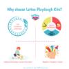 Lattoo Wonder Playdough Pack