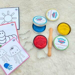 Lattoo Timeless Playdough Kit