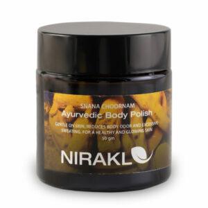 Ayurvedic Body Scrub | Nirakle Snana Choornam | For a Refreshed & Glowing to your Skin (50 gm)