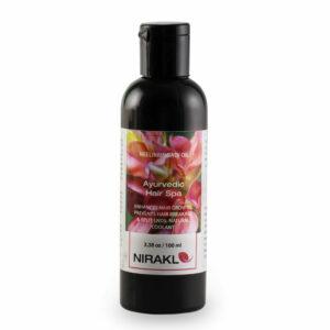 Ayurvedic Hair Spa | Nirakle NeeliBringadi Hair Oil (100 ml)
