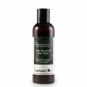 Anti Dandruff Hair Tonic   Nirakle DurdooraPathradi Anti Dandruff Oil   Ayurvedic Hair Oil for Men and Women   For Thick Luscious Hair   Promotes Hair Growth   100% Natural (50 ml)