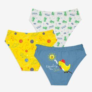 SuperBottoms Young Boy Brief / Underwear 6-8 yrs-Finding Dino