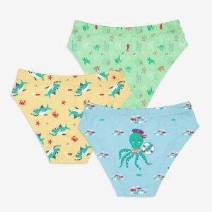 SuperBottoms Young Boy Brief / Underwear 4-6 yrs-Sea-Saw