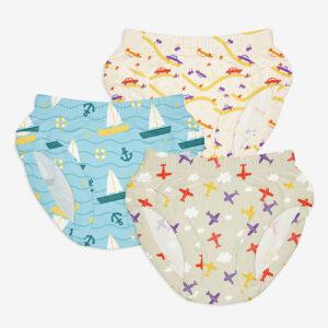 SuperBottoms Unisex Toddler Brief / Underwear 3-4 yrs-Kids' Day Out