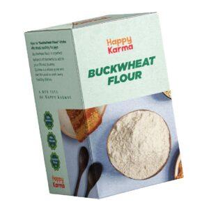 Happy Karma Buckwheat Flour 900g   Kuttu ka Atta   Healthy Flour   Protien source   Diet Friendly 