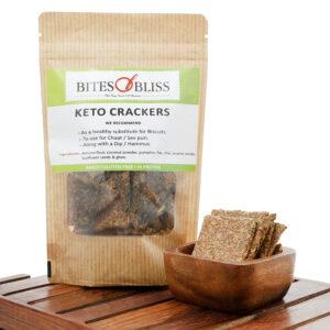 Keto Seedy Almond Crackers