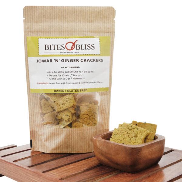 Jowar N Ginger Crackers