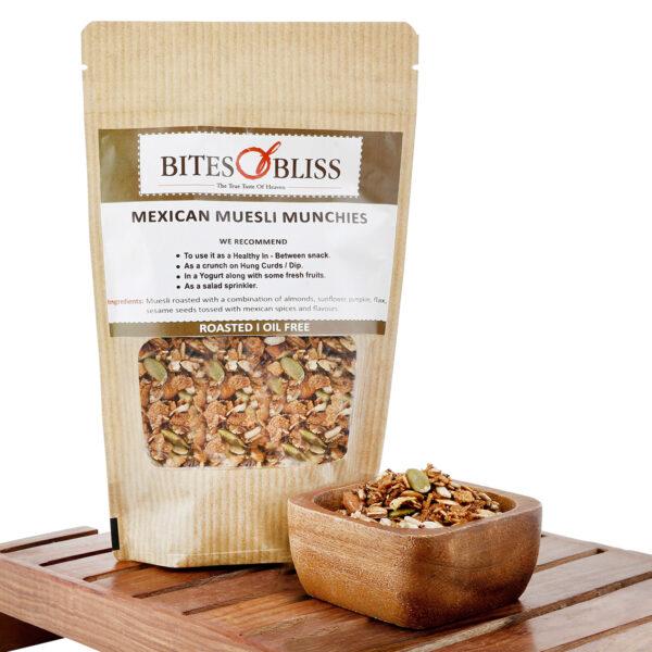 Mexican Muesli Munchies