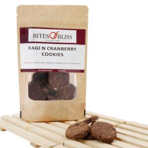 Ragi N Cranberry Cookies