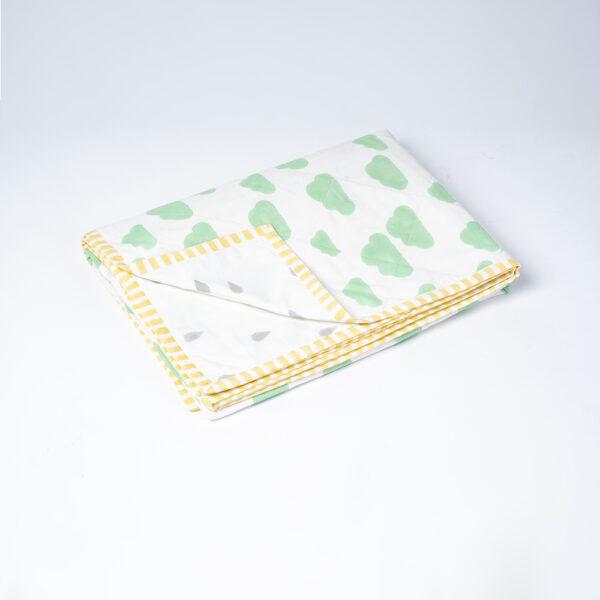 Cloud Toddler Blanket