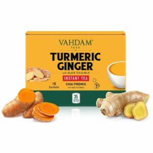 Turmeric Ginger Instant Tea Premix - 10 Sachets