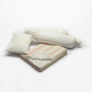 Pink Baby Infant Bedding Set