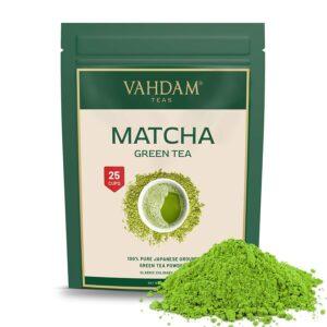 Certified Japanese Matcha Green Tea Powder - 50 gm (25 Servings) |100% Pure Authentic Japanese Matcha Powder
