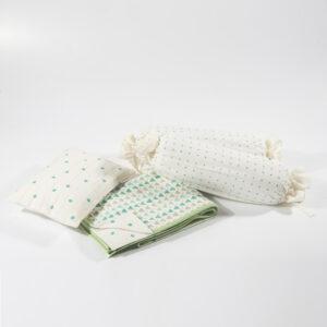 Blue Baby Infant Bedding Set