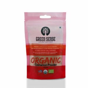 Green Sense Organic Cinnamon Powder (Dalchini) - 50g