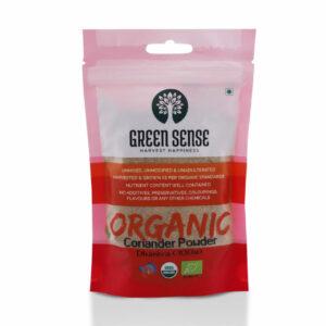 Green Sense Organic Coriander Powder (Dhaniya) - 100g