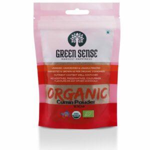 Green Sense Organic Cumin Powder (Jeera) - 100g