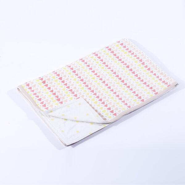 Pink Triangle Toddler Blanket