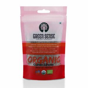 Green Sense Organic Cumin Whole (Jeera) - 100g