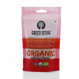 Green Sense Organic Dry Mango Powder (Amchoor) - 100g
