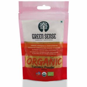 Green Sense Organic Turmeric Powder (Haldi) - 100g