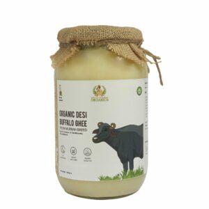 PROUD FARMER ORGANICS ORGANIC BUFFALO GHEE - 900gms