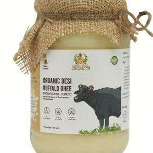 PROUD FARMER ORGANICS ORGANIC BUFFALO GHEE - 450gms