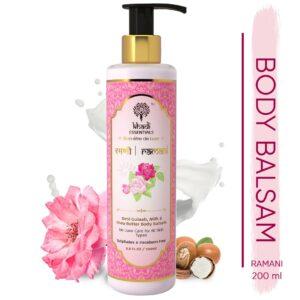 Khadi Essentials Ramani - Desi Gulab, Milk & Shea Butter Body Balsam