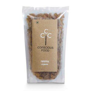 Conscious Food Organic Raisins 250g