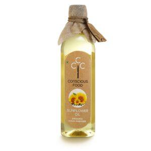 Conscious Food Sunflower Oil 1 Liter
