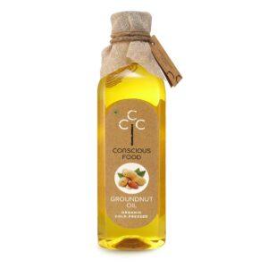 Conscious Food Groundnut Oil 1 Liter