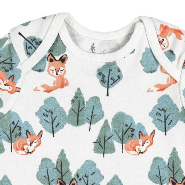 T-shirt Half Sleeve- Crafty Fox