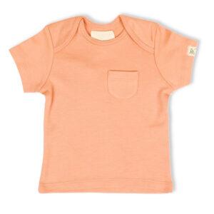 T-shirt Half Sleeve- Coral Blush