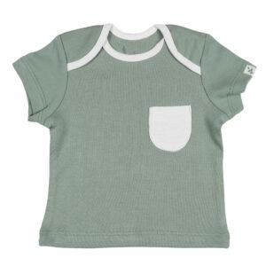 T-shirt Half Sleeve- Sage Green