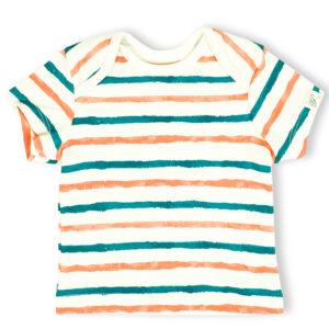 T-shirt Half Sleeve- Stripe Hype