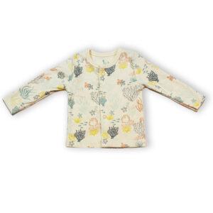 T-shirt Button Down Full Sleeve- Under Water World