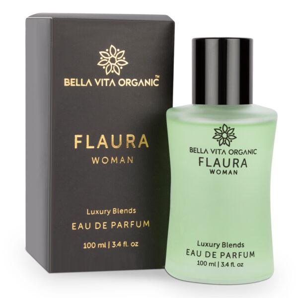 Bella Vita Organic Flaura Women Perfume Floral, Oriental And Bitter Sweet Fragrance Long Lasting Scent - 100 ml