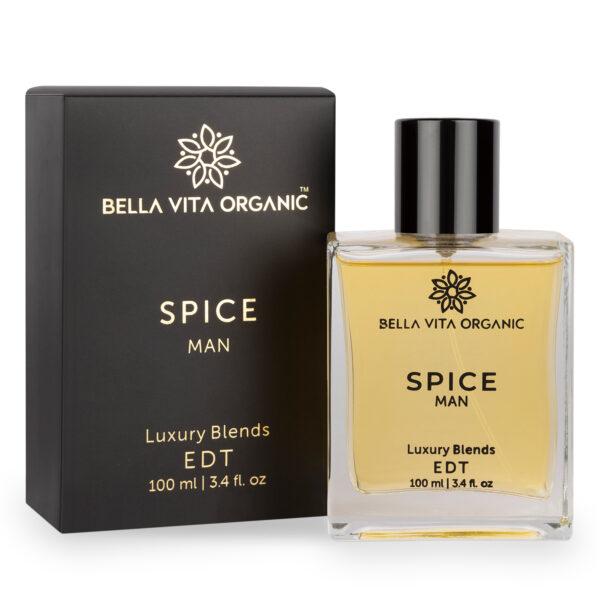Bella Vita Organic Spice Men Perfume Long Lasting Scent Luxury Spicy, Citrus Aroma -100 ml