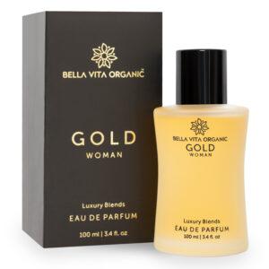 Bella Vita Organic Gold Woman EDP - Luxury Perfume For Women With Long Lasting Fresh & Fruity Fragrance - 100ml